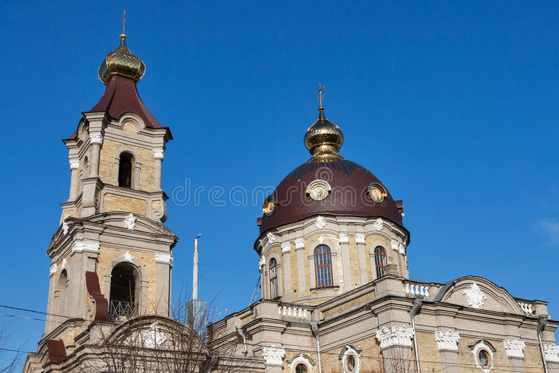St Nicholas Cathedral dans Berdychiv, région de Zhytomyr, Ukraine photo stock