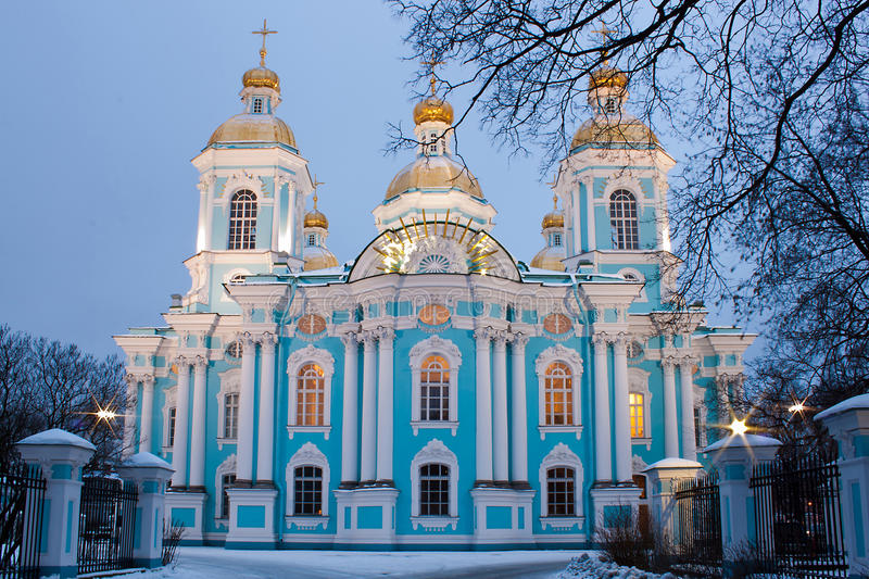 Download St. Nicholas Cathedral In Saint-Petersburg Stock Photo - Image: 22857424