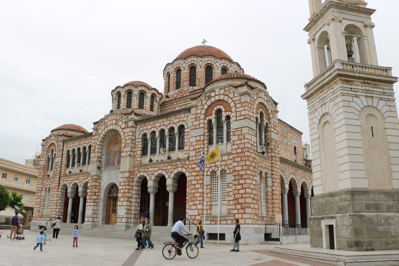 St. Nicholas Cathedral in Volos lizenzfreies stockfoto