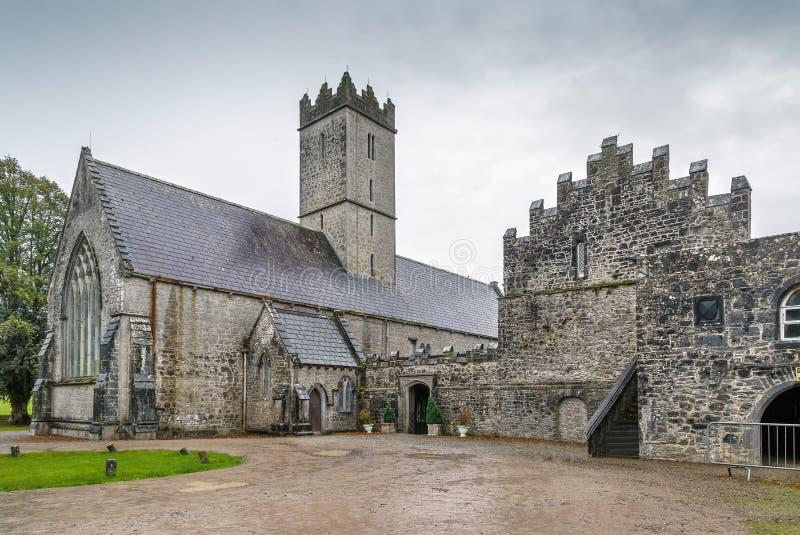 St. Nicholas Church, Adare, Ireland royalty free stock photo