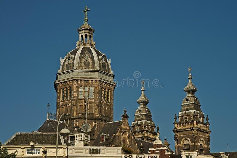 St Nicholas Church, Amsterdam immagine stock libera da diritti