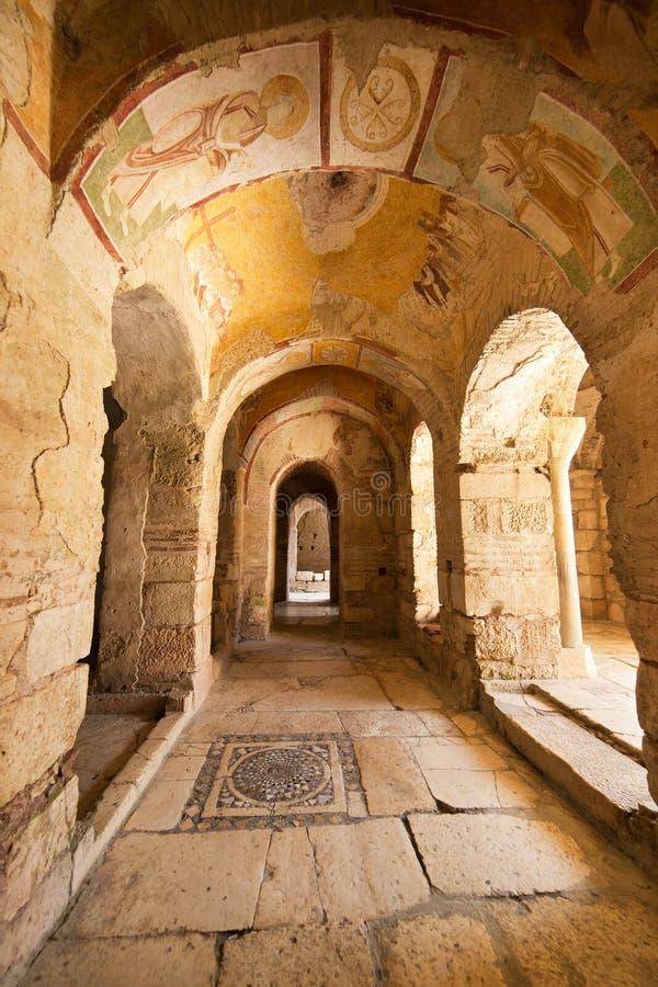 St Nicholas Church dans Demre Turquie images libres de droits