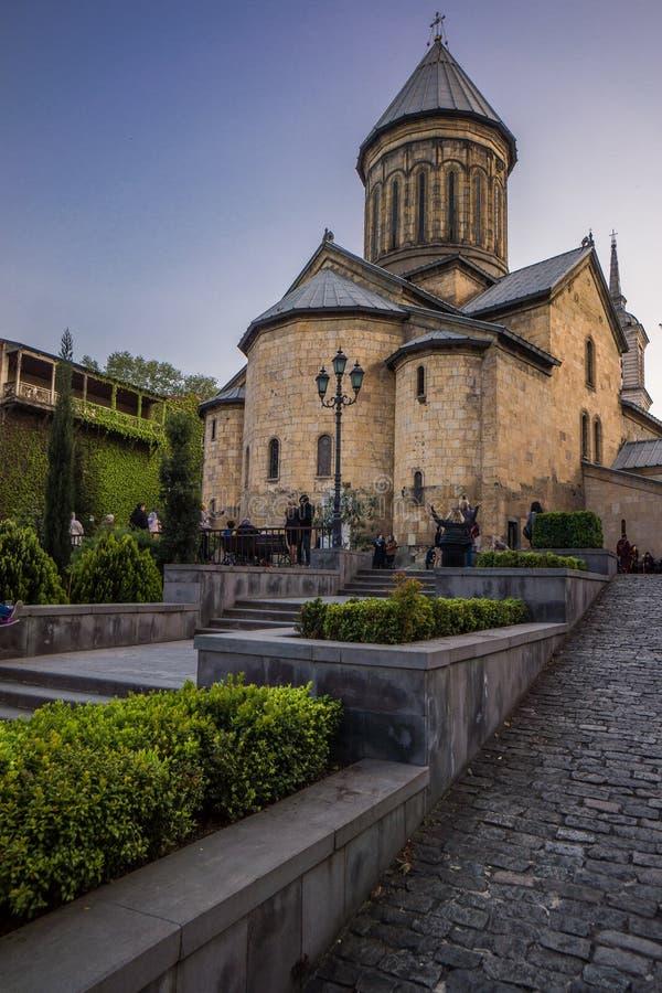 St Nicholas Church i tbilisi arkivfoto