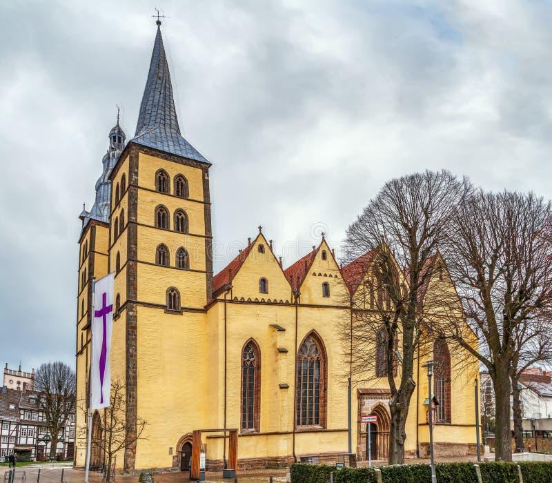 St Nicholas Church, Lemgo, Allemagne photo libre de droits