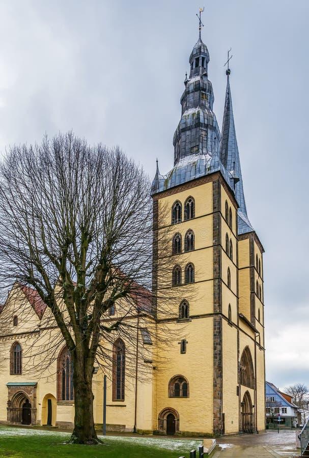 St Nicholas Church, Lemgo, Allemagne image stock