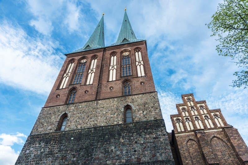 St Nicholas Church Nikolaikirche a Berlino, Germania immagini stock libere da diritti