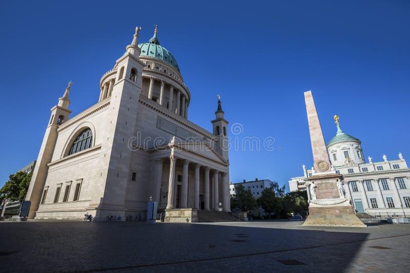 St Nicholas Church (Nikolaikirche), Potsdam fotografia stock libera da diritti