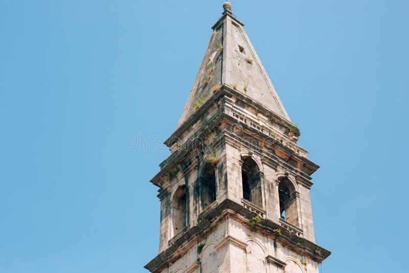 Download St. Nicholas Church, Perast, Montenegro Stockbild - Bild von außen, religion: 90232561