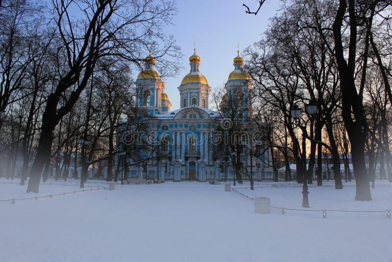 Download St. Nicholas Church, St-Petersburg Stock Image - Image: 23011413