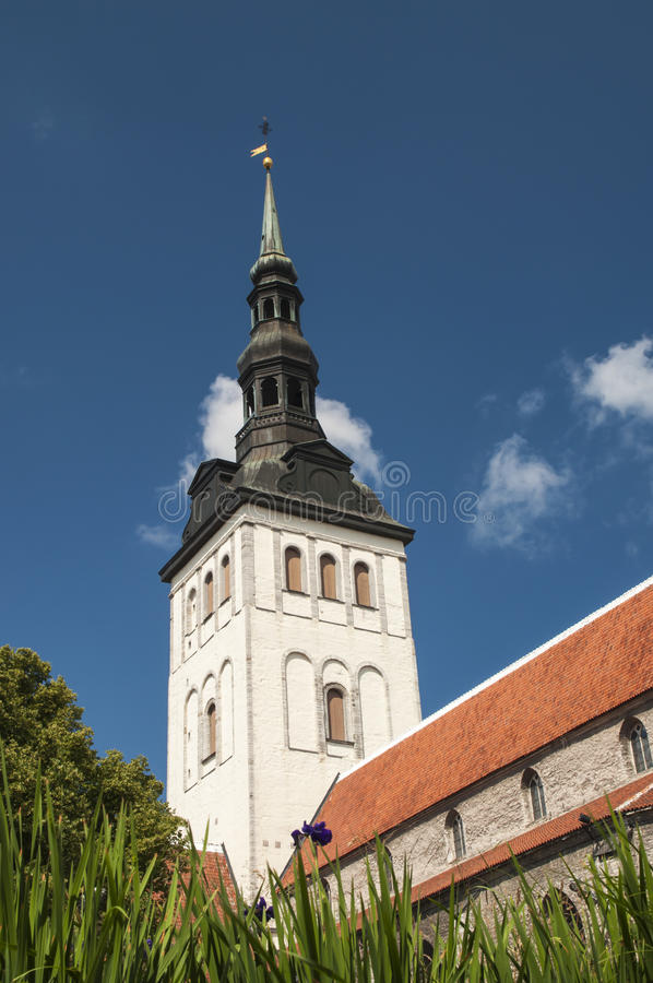 Download St Nicholas Church Tallinn stock image. Image of historic - 31822211