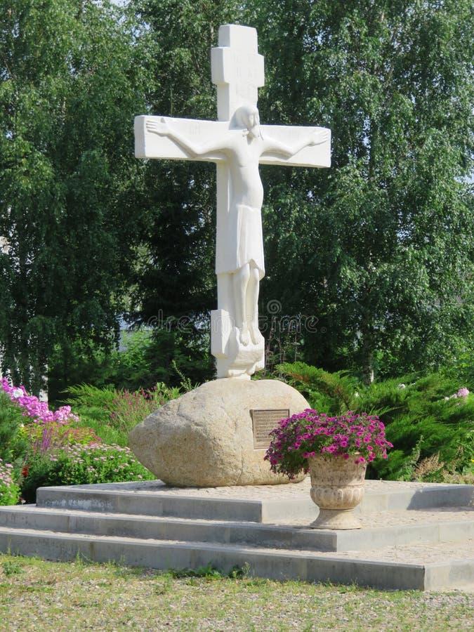St Nicholas Convent A cidade de Pereyaslavl-Zalessky fotos de stock royalty free