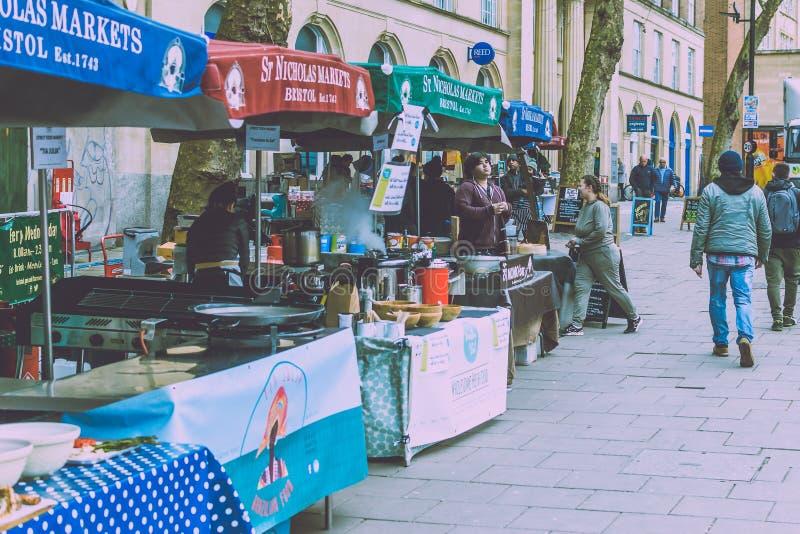 St Nicholas Food Market A fotografia de stock royalty free