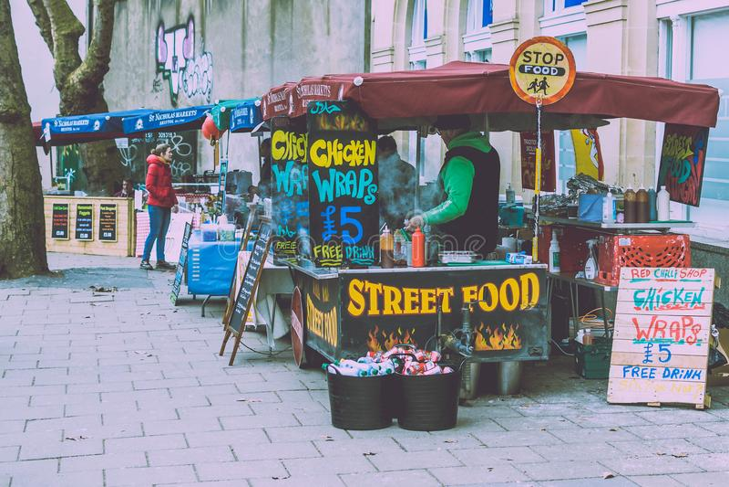 St Nicholas Food Market B fotos de stock royalty free