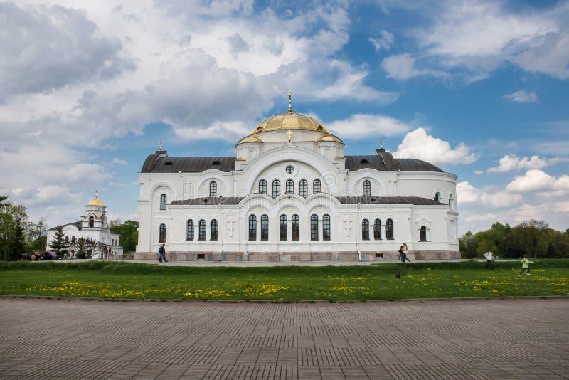 St Nicholas Garrison Cathedral Brest images libres de droits