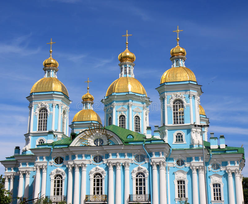 St. Nicholas kathedraal stock afbeelding
