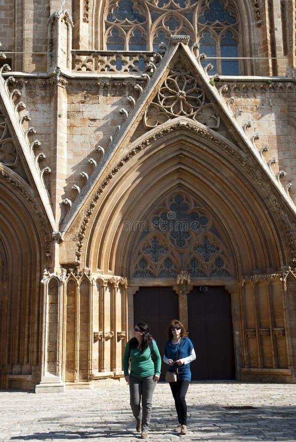 Download St.Nicholas Kathedraal Omgezet In Pasha Van Lala Mustafa Moskee Redactionele Fotografie - Afbeelding bestaande uit nicholas, panoramisch: 29502257
