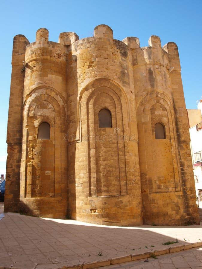 St Nicholas kościół, Mazara Del Vallo, Sicily, Włochy zdjęcia stock
