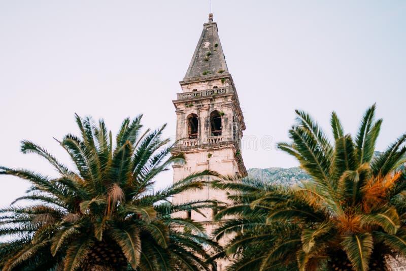 St Nicholas kościół, Perast, Montenegro obrazy stock