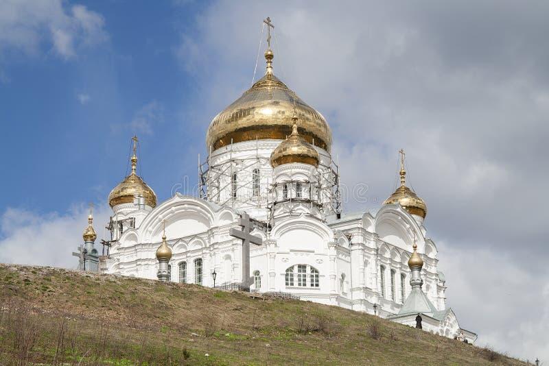 St. Nicholas Monastery de Belogorsky fotografia de stock