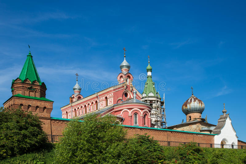 St. Nicholas Monastery für Männer stockfotos