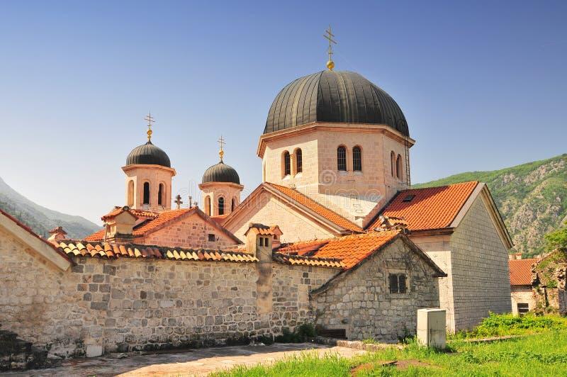 St Nicholas Orthodox church, Stari grad, old town, Kotor, Montenegro stock photos