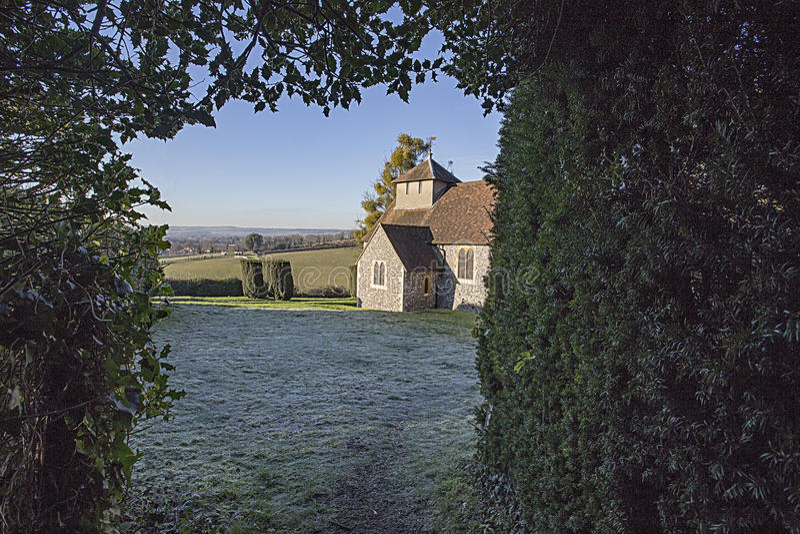 St Nicholas Parish Church Hedsor royalty free stock photo