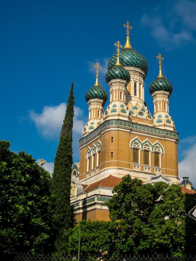 St Nicholas Prawosławna katedra w Ładnym zdjęcia royalty free