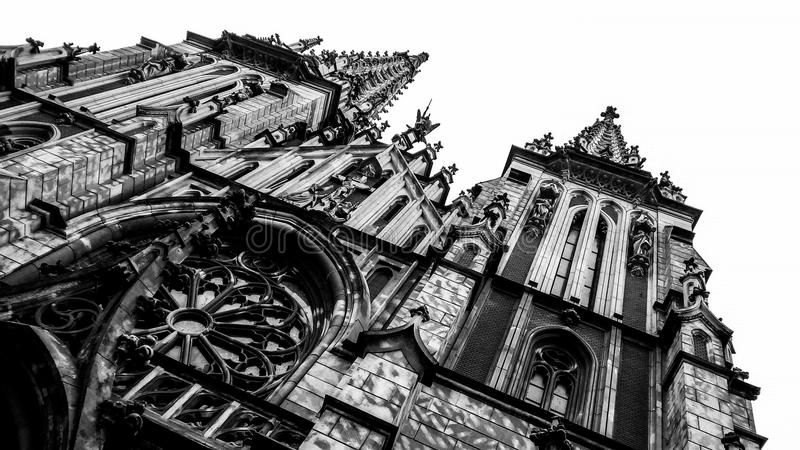 St. Nicholas Roman Catholic Cathedral, Kiev royalty free stock photo