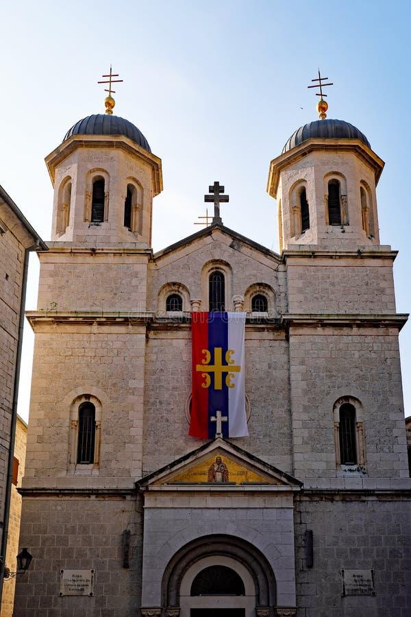 St Nicholas Serbian Orthodox Church, Kotor, Monténégro photo libre de droits