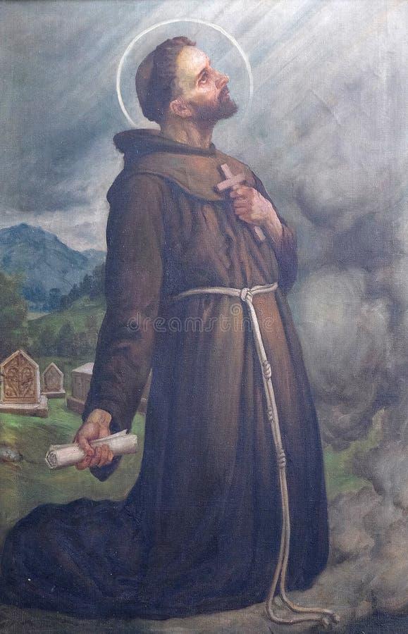 St Nicholas Tavelic стоковое фото