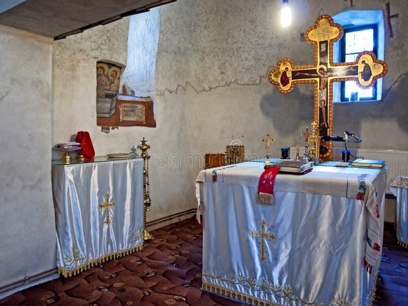 St Nicolae - altar fotos de archivo libres de regalías