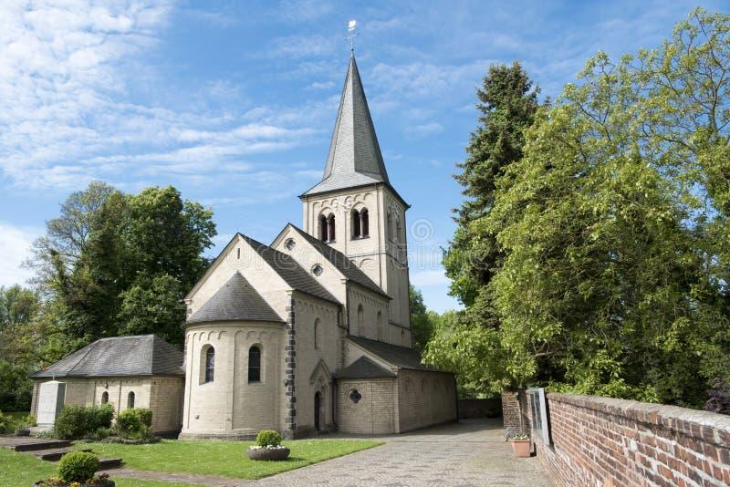 St Nicolas Church à Dusseldorf Himmelgeist image stock