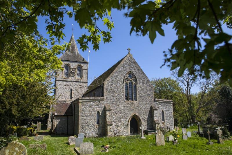 St Nicolas Church in Pevensey fotografie stock libere da diritti