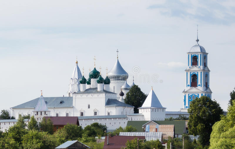 St Nikita monaster fotografia royalty free