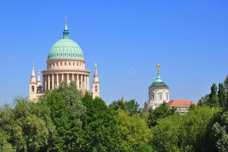 St. Nikolai church royalty free stock photography