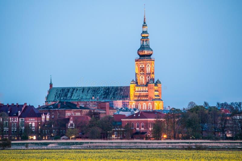 St Nikolai kościół w Greifswald zdjęcie royalty free