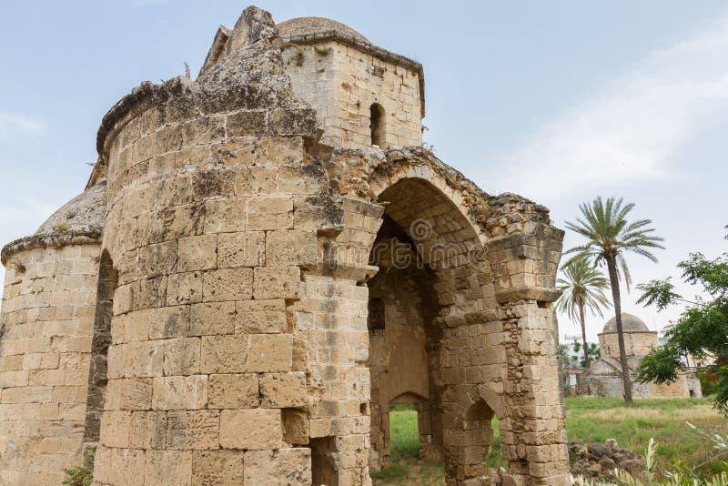 St Nikolas Byzantine Church, Famagusta, Chipre imagens de stock royalty free