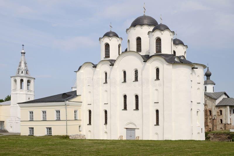 st novgorod nicholas собора стоковое изображение rf