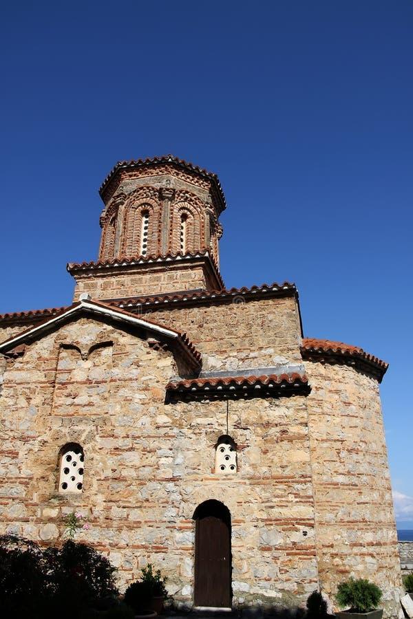 st ohrid naum македонии озера церков стоковое изображение rf