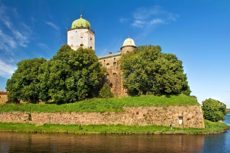 St Olaf kasztel w Vyborg zdjęcia stock