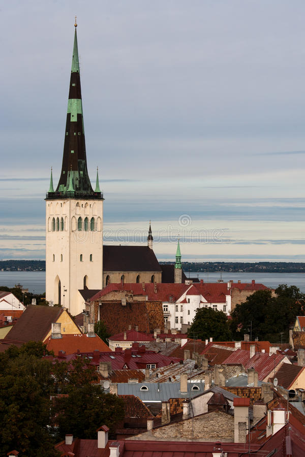 Download St. Olav's Church stock image. Image of history, town - 28875669