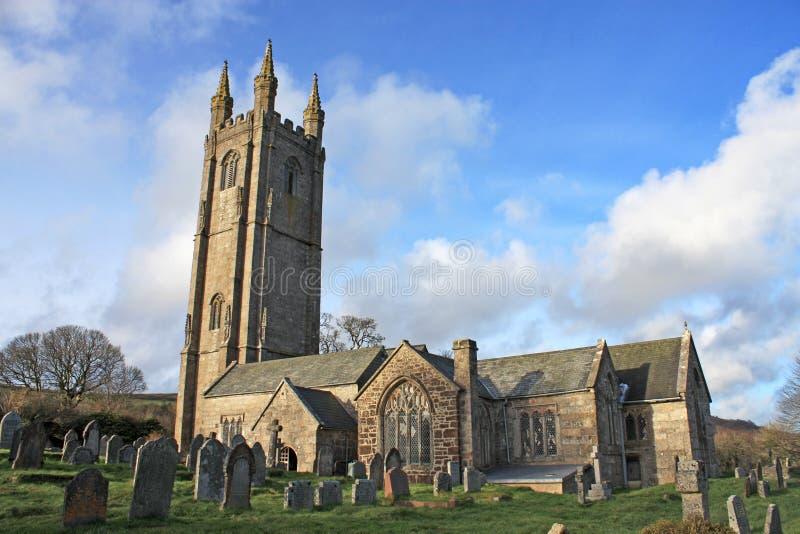 St Pancras kyrka, Devon royaltyfri foto
