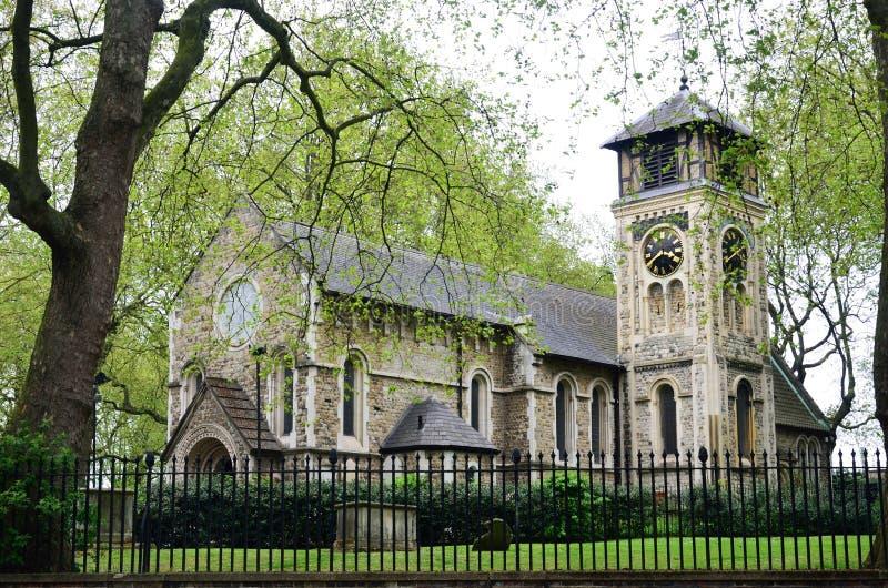 St Pancras kyrka London England arkivbilder
