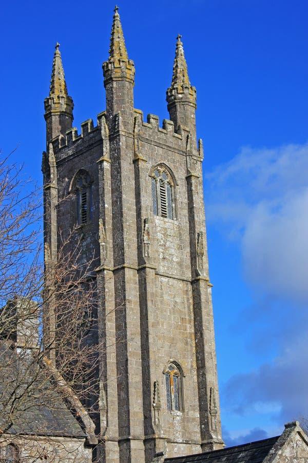 St Pancras kyrka, Widecombd arkivbilder