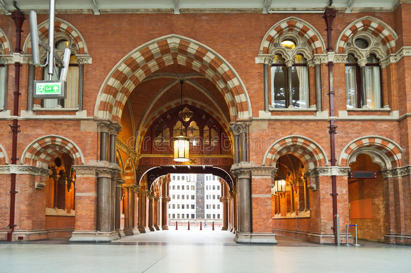 St Pancras, London stock photo