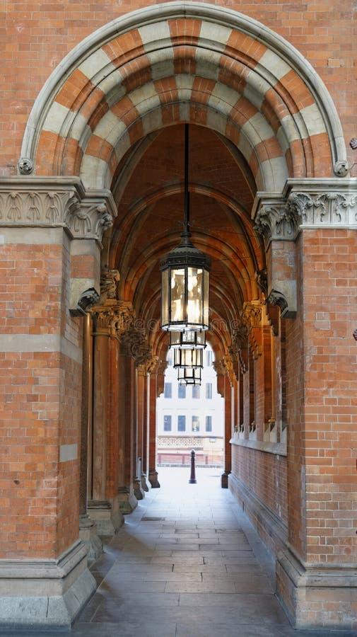 st pancras london стоковое фото