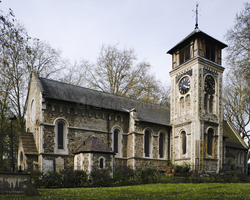 Download St Pancras Old Church stock photo. Image of architect - 16460102