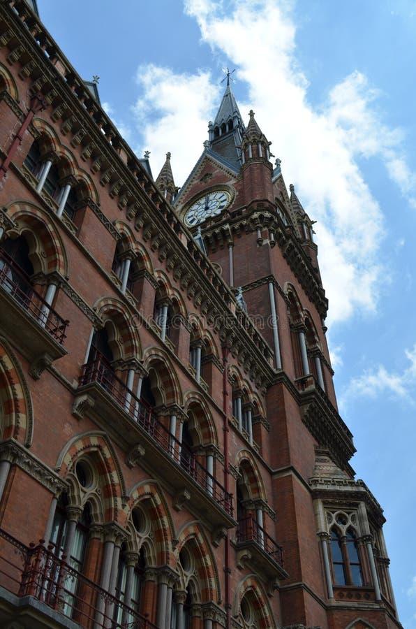 St.Pancras Railway Station. stock photo