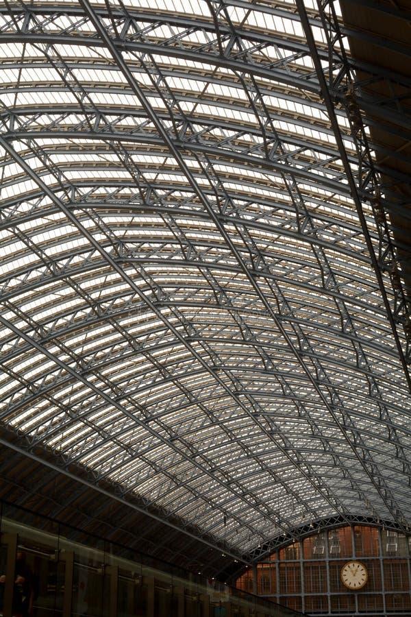 St Pancras Stationdak royalty-vrije stock foto