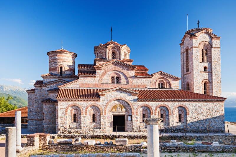 St. Panteleimon Church. Church of St. Panteleimon in Ohrid, Macedonia royalty free stock photography